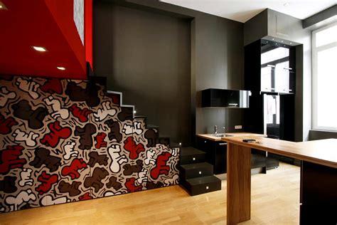 cuisine arrondie décoration et rénovation moderne d un appartement à lyon