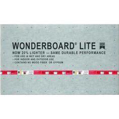 Hardie Tile Backer Board Vs Wonderboard by Hardie Hardiebacker 5 Ft X 3 Ft X 1 2 In Ceramic