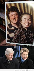 Then and now: Bill and Hillary Clinton in college - Funny ...