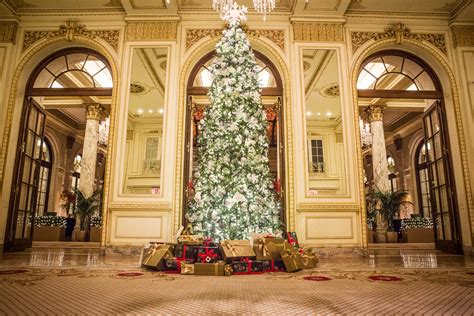 luxury hotels celebrate christmas with extravagant holiday