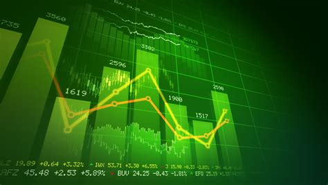 Abstract Economics Wallpaper by Global Finance Stock Market Animation Stock Footage