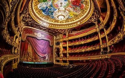 Theatre Opera Paris Wallpapers Garnier Palais Inside