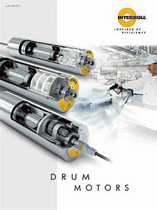 Interroll Motorised Drums By Texam Limited