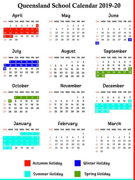 catch  school calendar qld state schools calendar