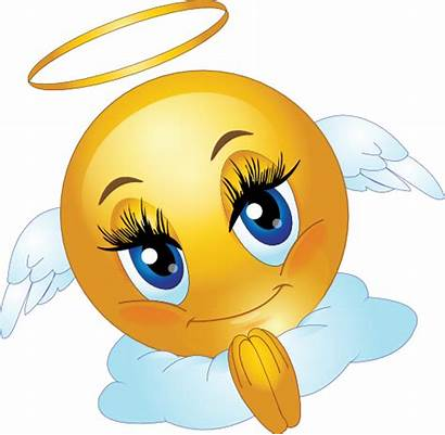 Angel Smiley Female Emoticon Clipart I2clipart Face