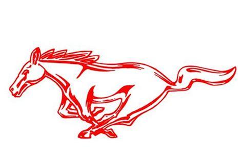 mustang running horse decals lmrcom
