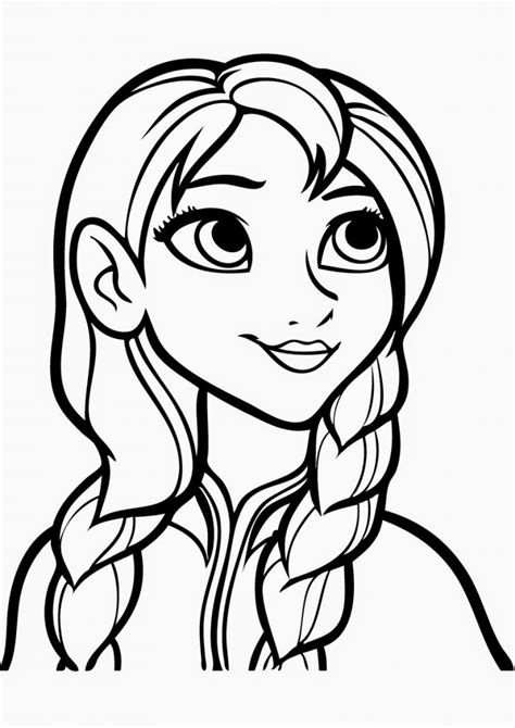 Free Printable Frozen Coloring Pages For Kids Best