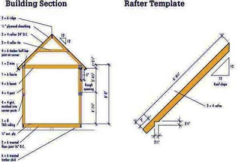 X10 Shed Plans Blueprints by 8 215 10 Storage Shed Plans Blueprints For Constructing A