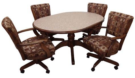alfa dinettes tobias dinette set 105 caster chairs