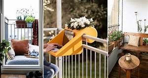 Sitzbank Für Balkon : 77 coole ideen f r platzsparende m bel womit sie kokett den kleinen balkon gestalten ~ Buech-reservation.com Haus und Dekorationen