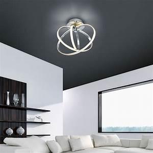 Led Deckenlampe Dimmbar : led deckenlampe dimmbar durchmesser 48 cm ~ Eleganceandgraceweddings.com Haus und Dekorationen