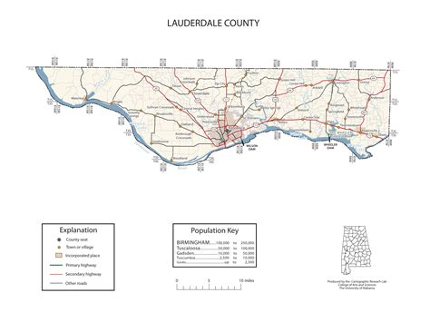 Maps Of Lauderdale County