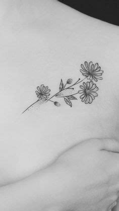 #BoulderInn | Tattoos | Tattoos, Birth flower tattoos, Daisy flower tattoos