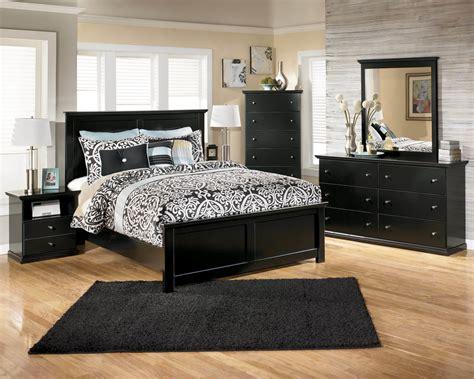 ashley marible black bedroom set bedroom furniture sets