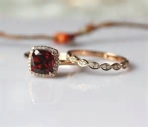garnet and engagement rings 18 non traditional garnet engagement rings that are gorgeous wedding rings