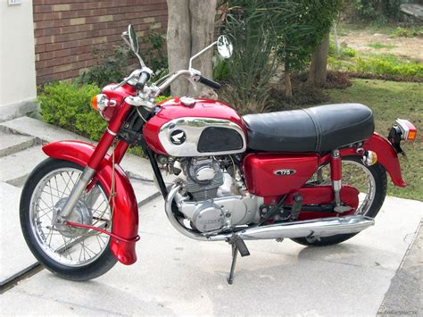 classic honda honda cd175 gallery classic motorbikes
