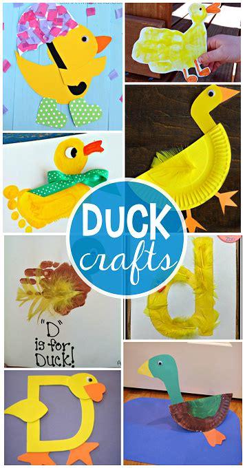 darling duck crafts  kids   duck crafts animal