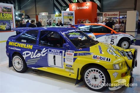 British Open Standings by Ford Escort Cosworth 1994 British Rally Championship