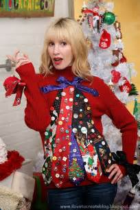 4 ways to make your own ugly holiday sweater ilovetocreate