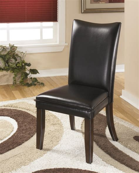 dining uph side chair set of 2 d530 01 charrell black dining uph side chair set of 2 d357 Tripton