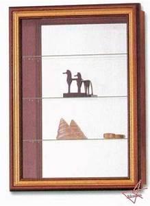 Vitrine En Verre Pour Collection : petite vitrine murale pour miniatures ~ Teatrodelosmanantiales.com Idées de Décoration