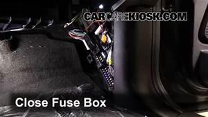 Interior Fuse Box Location  2007