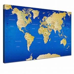 Weltkarte Bild Holz : ber ideen zu weltkarte leinwand auf pinterest ~ Lateststills.com Haus und Dekorationen