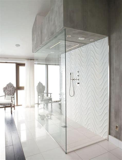 seta carrara wave tile shower   thassos floor tiles