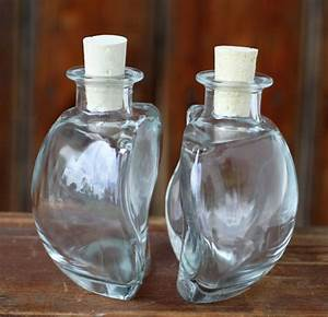 Glasflaschen Mit Korken : glasflasche ying yang mit korken 200ml 2sets 4teilig ~ Orissabook.com Haus und Dekorationen