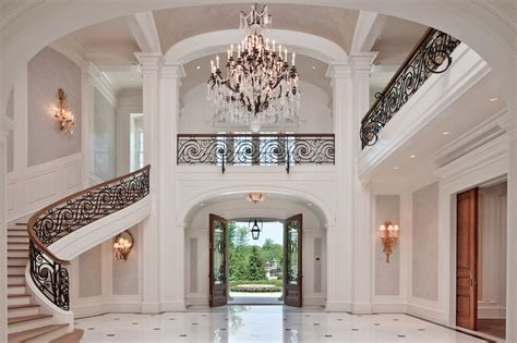 Grand Foyer by 5 Grand Foyers Fit For Royalty Photos Homes Of The Rich