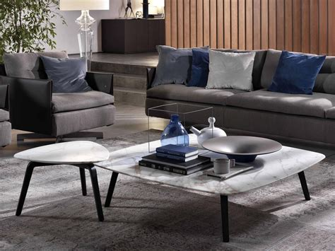 Poltrona Frau Fiorile Square Coffee Table By Roberto