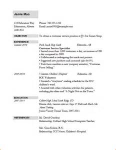 resume sle format 10 resume format for application basic appication letter