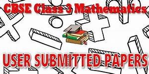 User Submitted Papers For Cbse Class 03 Evs Ncert Book