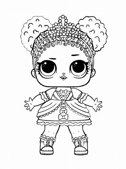 Lol Coloring Pages Dolls Printable Doll Mycoloring