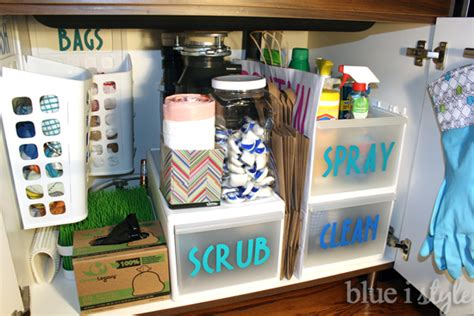 Tips For Organizing Under The Kitchen Sink  Hometalk