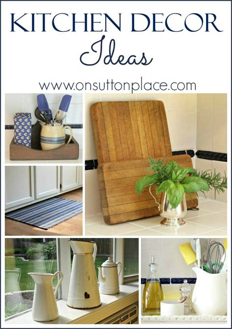 kitchen decor ideas  sutton place