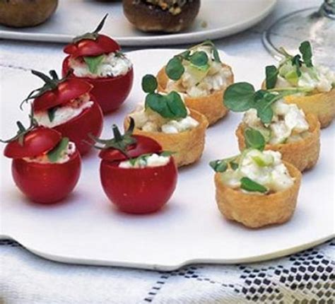 goats cheese canape recipes goat 39 s cheese stuffed tomatoes recipe food