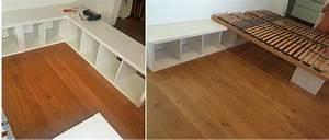 Bett 100x200 Ikea : familienbett aus kallax regalen einfach selber machen ~ Markanthonyermac.com Haus und Dekorationen