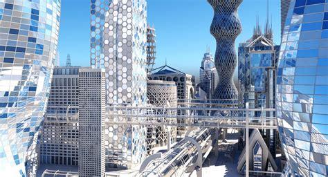 3D model Future City HD | CGTrader