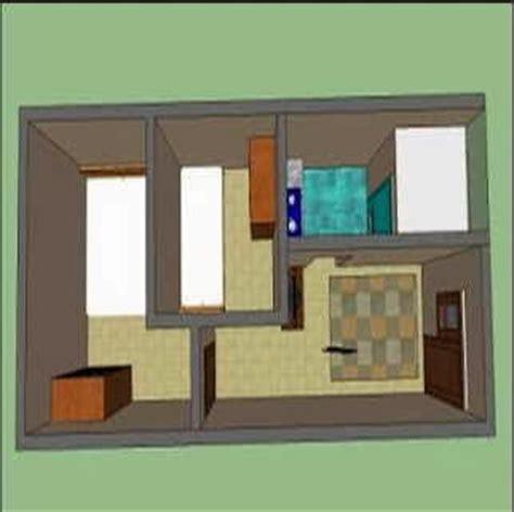 dekorasi  desain membuat rumah petak nyaman dekorasi