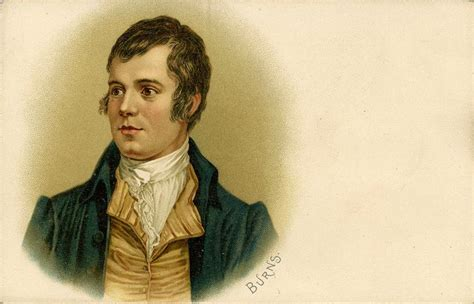 Robert Burns - portrait. Scottish poet: 25 January 1759 21 ...
