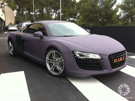 light pink audi 2010 audi r8 purple chess board edition wallpaper image