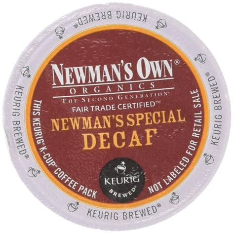 Perfect samplers decaf coffee variety pack single serve cups works in all keurig k cup brewers including the keurig 1.0 and 2.0 brewer. Newman's Own Organics -- SPECIAL DECAF COFFEE -- 96 K-Cups for Keurig - Walmart.com - Walmart.com
