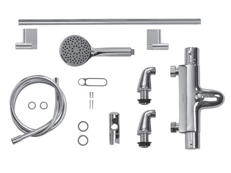 exposed pipe shower fittings aqualisa midas 300 bath shower mixer aqual parent 59