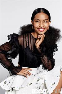 Black-ish's Yara Shahidi Serves 5 Fierce Natural Hair ...
