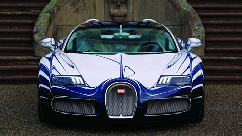 Blue Bugatti Car Hd Wallpaper by White And Blue Bugatti Veyron Grand Sport 2015 Hd Car