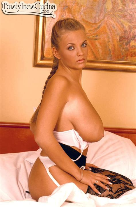 wonderful big hanging breasts blonde babe from