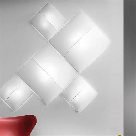 Axo Light Nelly Square Wall/Ceiling Light   Eames Lighting