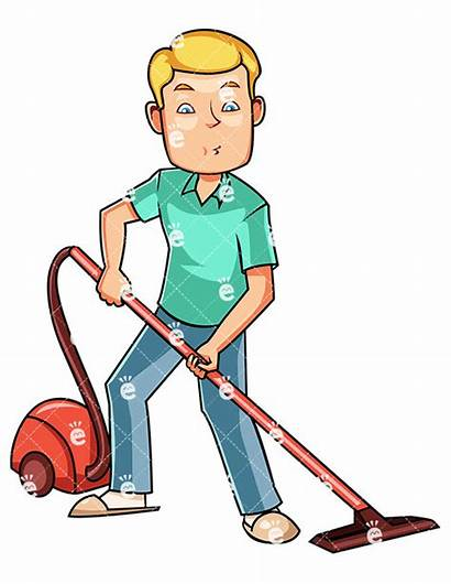 Vacuum Clipart Housekeeping Using Clean Canister Cleaning