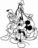 Coloring Goofy Pages Trombone Mickey Mouse Friends Disney Clubhouse Halloween Printable Adult Print Christmas Getdrawings Activities Donald Mewarnai Dari Disimpan sketch template